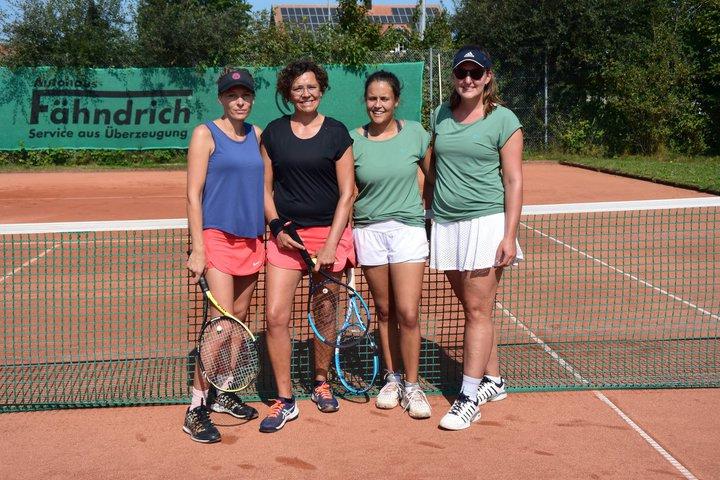 Laura, Claudi, Ina und Karin