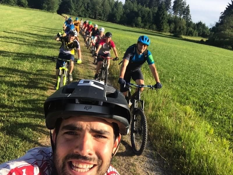 Mountainbike-Gruppe 2017