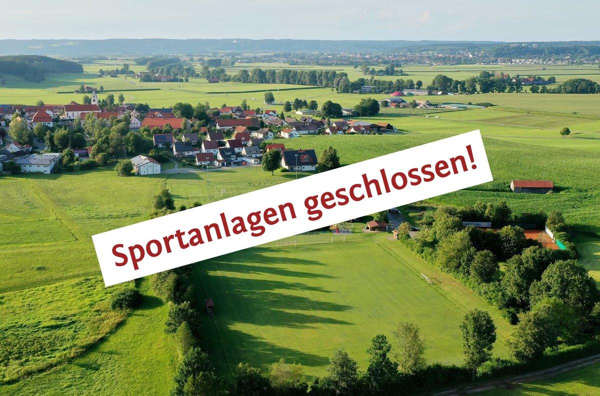 Das SVH-Sportgelände ist bis auf weiteres geschlossen!