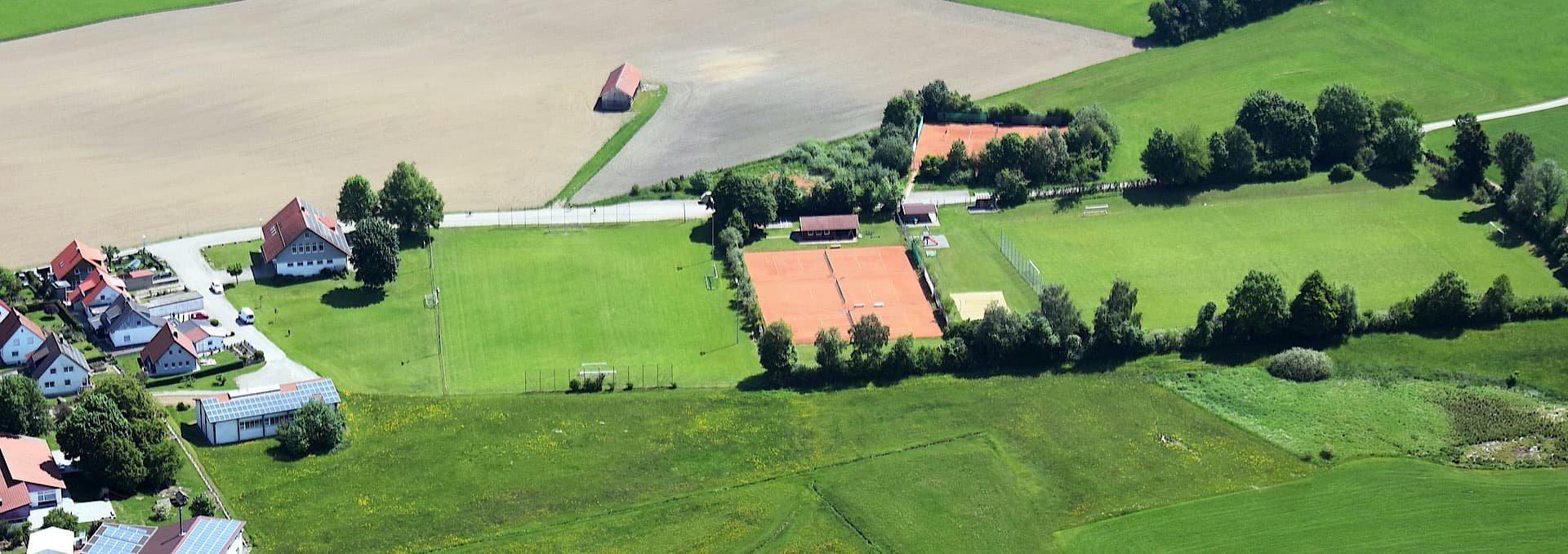 Das Sportgelände des SV Herlazhofen